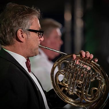 trompetles in borne, tromboneles in borne, hoornles in borne