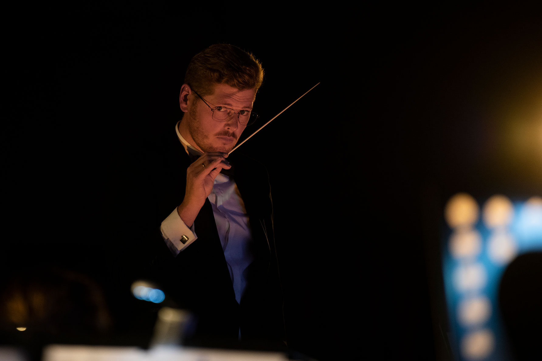 Jurgen Wentzel, dirigent stedelijk orkest borne